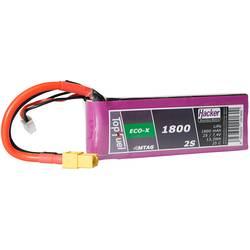 Hacker LiPo akumulatorski paket za modele 7.4 V 1800 mAh Število celic: 2 25 C Mehka torba XT60