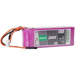 Hacker LiPo akumulatorski paket za modele 7.4 V 2000 mAh Število celic: 2 5 C Mehka torba JR