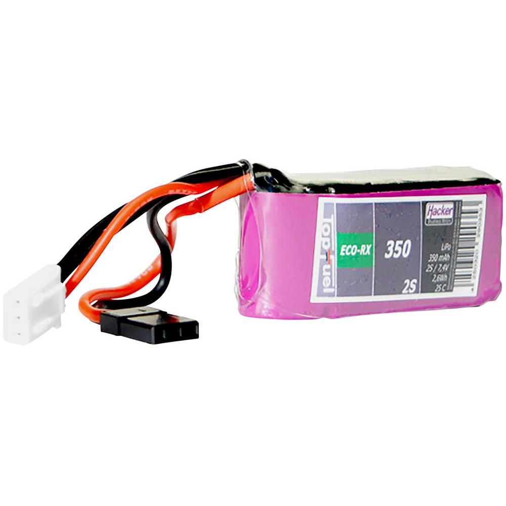 Hacker lipo akumulatorski paket za modele 7.4 V 350 mAh Število celic: 2 25 C mehka torba jr-vtičnica