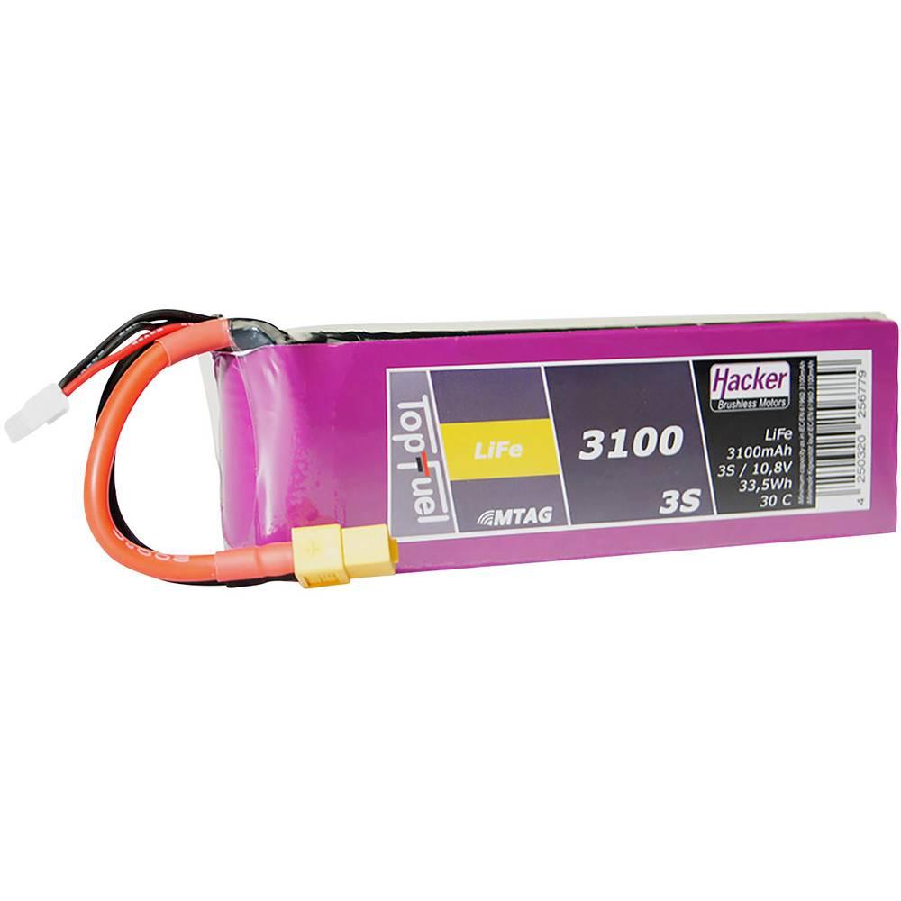 Hacker life akumulatorski paket za modele 9.9 V 3100 mAh Število celic: 3 30 C mehka torba xt60