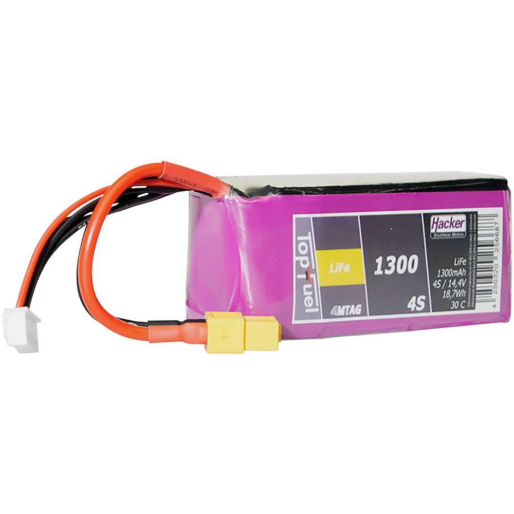 Hacker life akumulatorski paket za modele 13.2 V 1300 mAh Število celic: 4 30 C mehka torba xt60