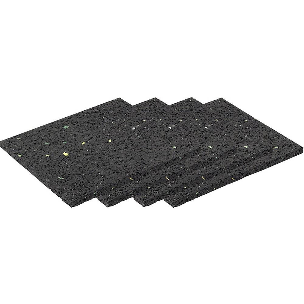 LAS 10296 Anti Rutschpads 4 Stk. 10x10cm komplet za zavarovanje tovora (D x Š x V) 10 mm x 10 cm x 0.4 cm