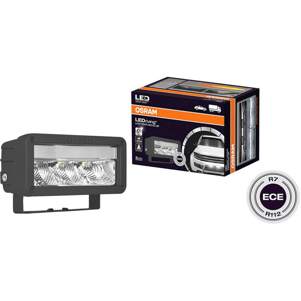 Osram Auto LEDDL102-SP LEDriving LIGHTBAR MX140-SP led spredaj (Š x V x G) 140 x 69 x 86 mm črna