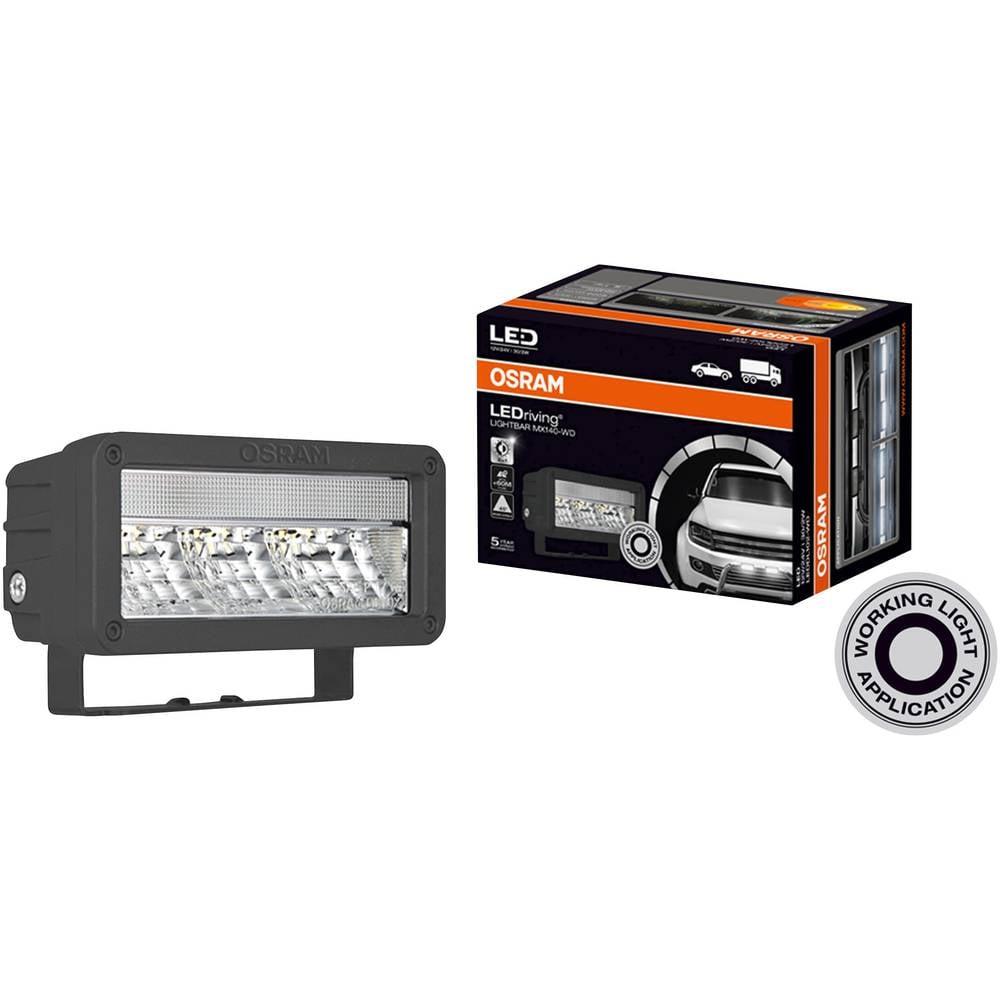 Osram Auto LEDDL102-WD LEDriving LIGHTBAR MX140-WD led spredaj, zadaj (Š x V x G) 140 x 69 x 86 mm črna