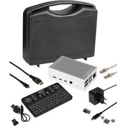 Pi-Cast Set uklj. tipkovnica, uklj. kućište, Uklj. napajanje, uklj. hladnjak, uklj. HDMI kabel , Uklj. Noobs OS Joy-it
