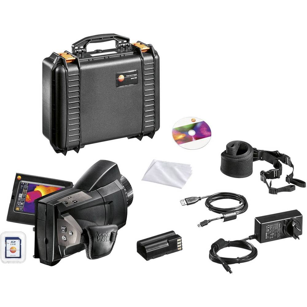 testo toplotna kamera -30 do +650 °C 320 x 240 piksel 33 Hz integrirana digitalna kamera