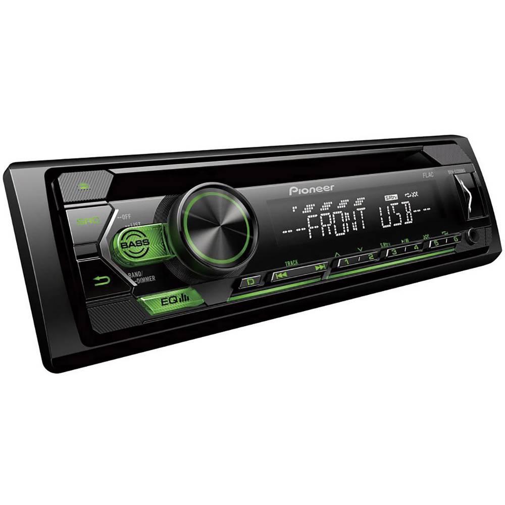 Pioneer DEH-S120UBG avtoradio radio z aplikacijami, Bluetooth® komplet za prostoročno telefoniranje