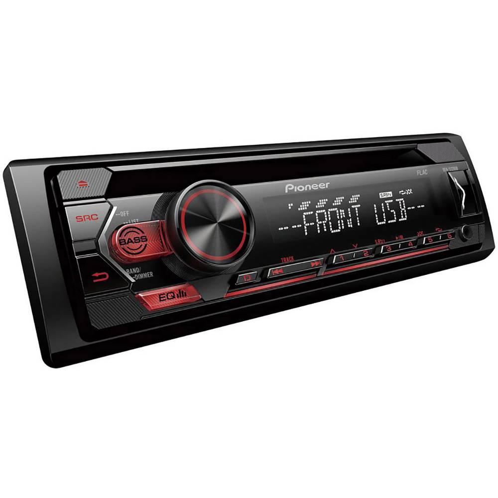 Pioneer DEH-S120UB avtoradio radio z aplikacijami, bluetooth® komplet za prostoročno telefoniranje