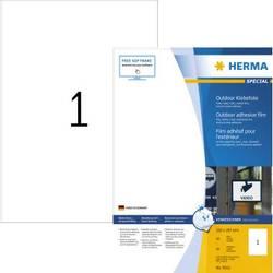 Herma 9543 Etikete (A4) 210 x 297 mm Polietilen film Bijela 40 ST Ekstra jako prianjanje Vrsta naljepnice