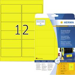 Herma 8029 Etikete (A4) 99.1 x 42.3 mm Poliester film Žuta 300 ST Ekstra jako prianjanje Vrsta naljepnice