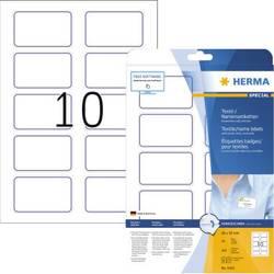 Herma 4410 Etikete (A4) 80 x 50 mm Acetat Bijela, Plava boja 200 ST Ponovno ljepljenje Naljepnice za ime