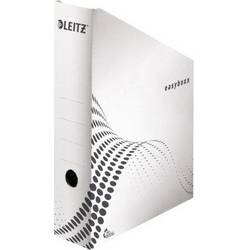 Leitz easyboxx 6140 61400000 stojalo za revije din a4 bela valoviti karton, recikliran papir 1 kos