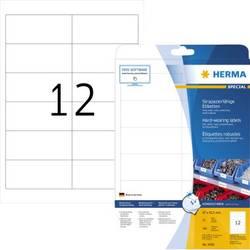 Herma 4692 Etikete (A4) 97 x 42.3 mm Poliester film Bijela 300 ST Ekstra jako prianjanje Vrsta naljepnice