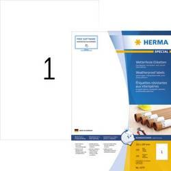 Herma 4379 Etikete (A4) 210 x 297 mm Papir vremenski nepropusan Bijela 100 ST Ekstra jako prianjanje Naljepnice otporne na vreme