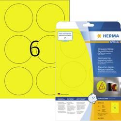 Herma 8035 Etikete (A4) 85 x 85 mm Poliester film Žuta 150 ST Ekstra jako prianjanje Vrsta naljepnice
