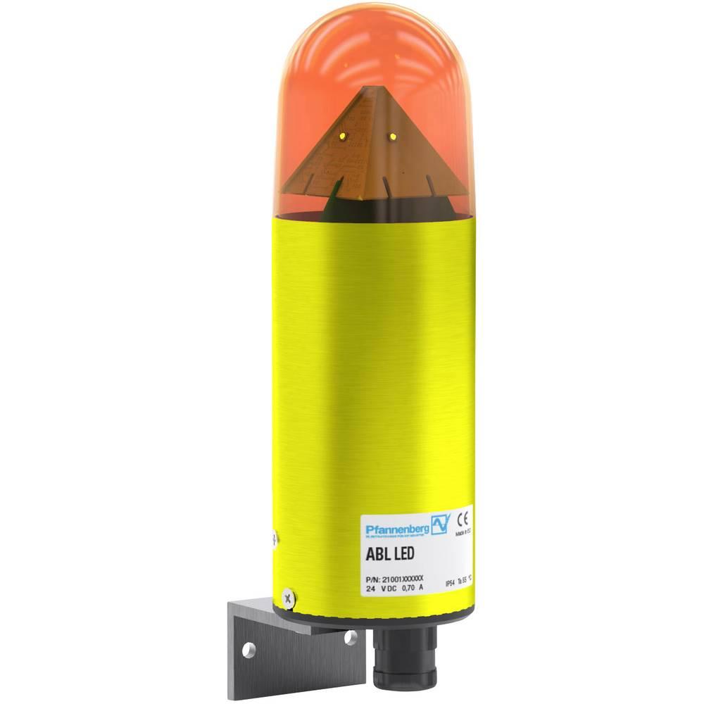 Pfannenberg signalna svjetiljka ABL LED HI 90-253 AC AM narančasta narančasta bljeskalica, žmigavac, stalno svjetlo 230 V/AC