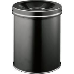 Durable 330501 koš za papir 15 l (Ø x V) 260 mm x 357 mm jeklo črna 1 kos