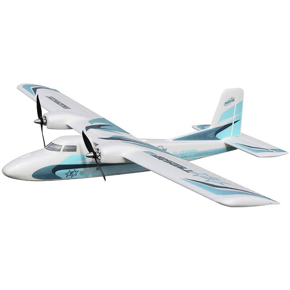 Multiplex TwinStar ND RC Model motornega letala RR 1420 mm