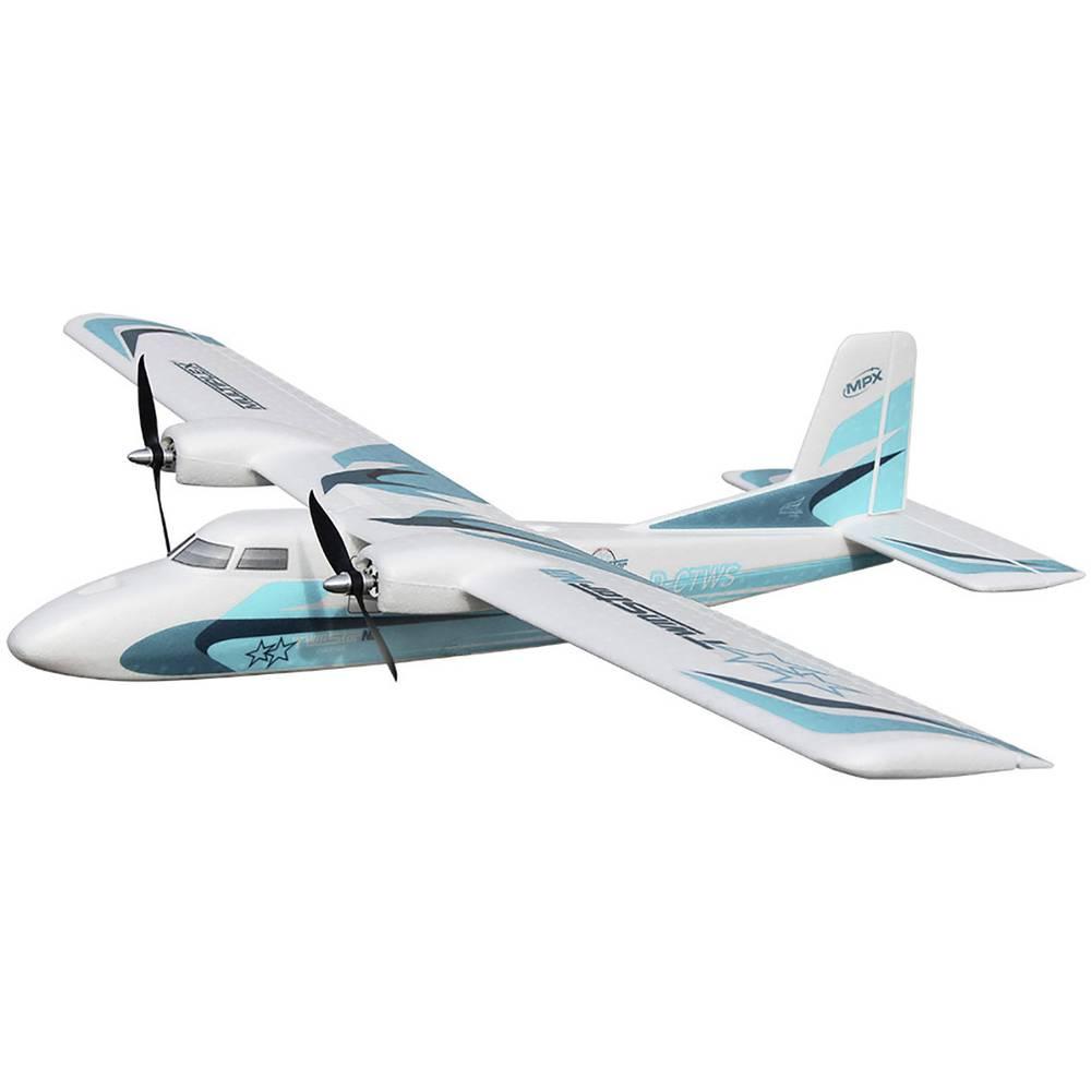 Multiplex TwinStar ND RC Model motornega letala Komplet za sestavljanje 1420 mm
