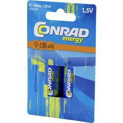 Conrad energy Extreme Power LR14 baby (c) baterija alkalno-manganov 8000 mAh 1.5 V 2 kos