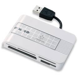 Renkforce CR22e-SIM Vanjski čitač memorijskih kartica USB 2.0 Srebrna