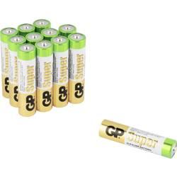 GP Batteries Super 8+4 micro (aaa)-baterija alkalno-manganov 1.5 V 12 kos