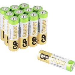 GP Batteries Super 8+4 mignon (aa)-baterija alkalno-manganov 1.5 V 12 kos