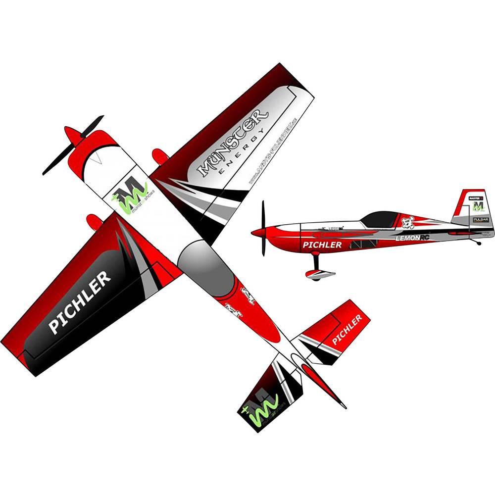 Pichler Extra 330 Münster Energy Combo Rdeča RC Model motornega letala Komplet za sestavljanje 840 mm