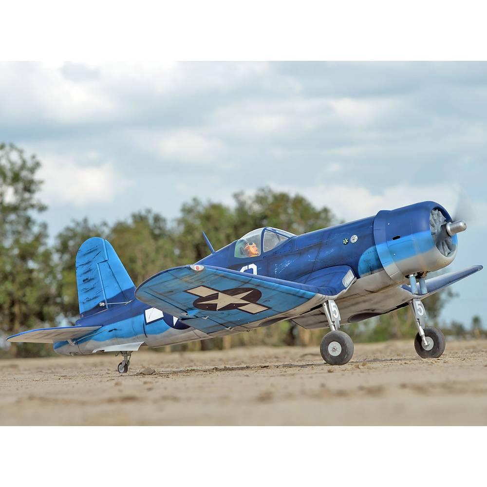 Black Horse Corsair F4U RC Model motornega letala Komplet za sestavljanje 2280 mm