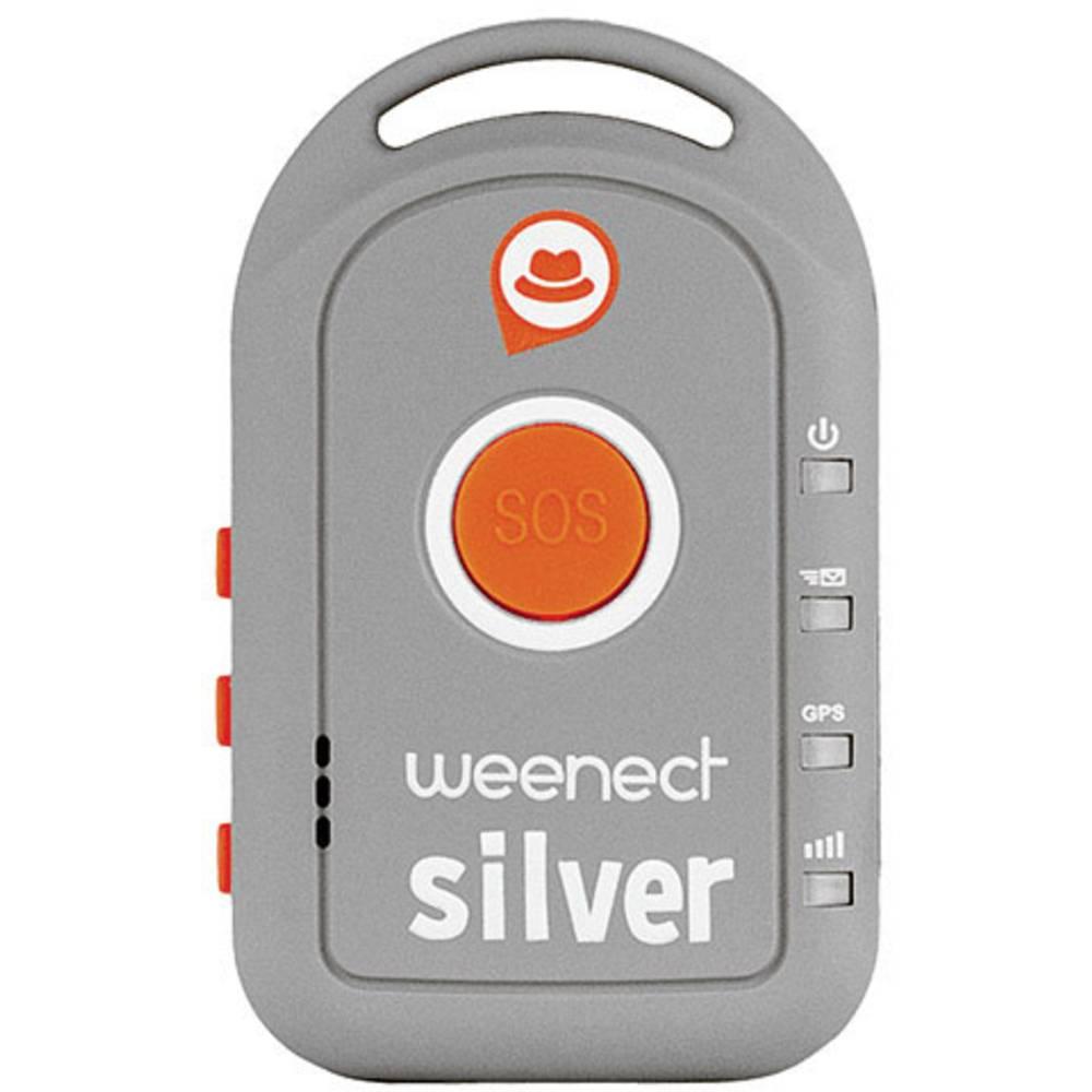 Weenect Silver gps sledilna naprava sledilnik oseb siva