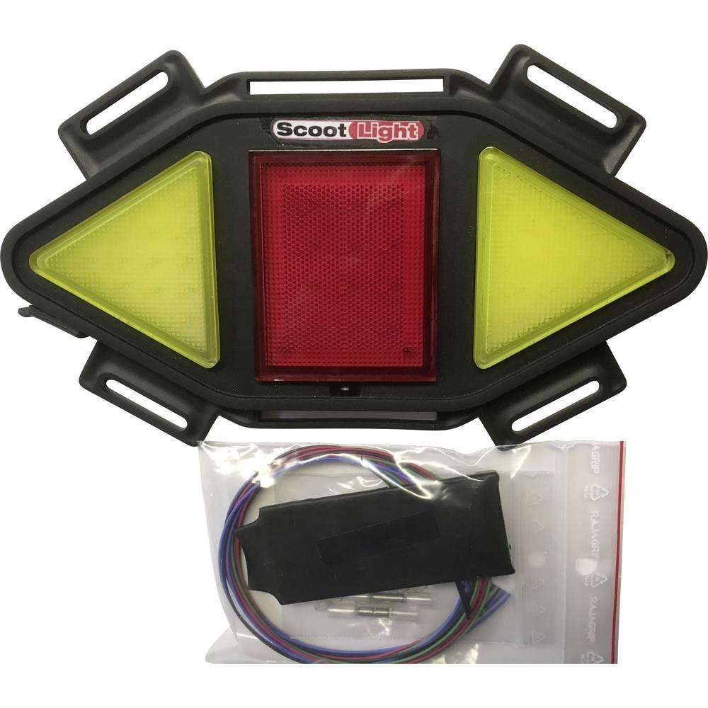 Dodatna zadnja luč Profi Power Scoot-Light F 2220200 (D x Š x V) 210 x 125 x 15 mm