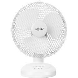 Goobay 9 Zoll namizni ventilator 30 W (Ø x V) 25 mm x 36 cm bela
