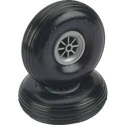 pnevmatike iz penaste gume za model zračnega plovila s plastičnim platiščem, s profilom DU-BRO 45 mm 2 KOS