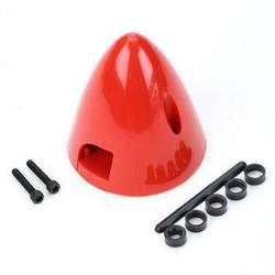 DU-BRO kapa s hladilnim ventilom plastika Premer, ø: 38 mm rdeča