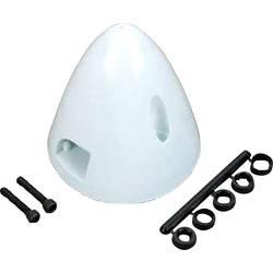 DU-BRO kapa s hladilnim ventilom plastika Premer, ø: 51 mm bela