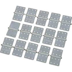 šarnir pravokotni poliamid DU-BRO Hinges 16/28 (D x Š) 28 mm x 16 mm 15 KOS