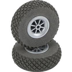 pnevmatike iz penaste gume za model zračnega plovila s plastičnim platiščem, s profilom DU-BRO 64 mm 2 KOS