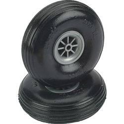 pnevmatike iz penaste gume za model zračnega plovila s plastičnim platiščem, s profilom DU-BRO 63 mm 2 KOS