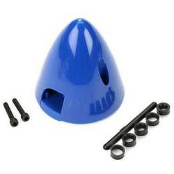 plastika kapa s hladilnim ventilom DU-BRO Premer, ø: 45 mm modra