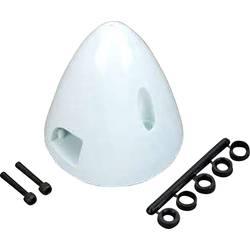 plastika kapa s hladilnim ventilom DU-BRO Premer, ø: 57 mm bela