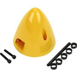 plastika kapa s hladilnim ventilom DU-BRO Premer, ø: 76 mm rumena