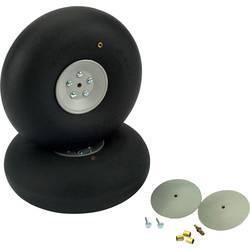 široke pnevmatike za model zračnega plovila s plastičnim platiščem DU-BRO 140 mm 2 KOS
