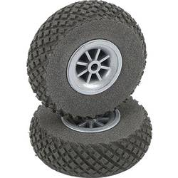 pnevmatike iz penaste gume za model zračnega plovila s plastičnim platiščem, s profilom DU-BRO 70 mm 2 KOS