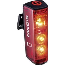 zadnja luč za kolo Sigma Blaze led akumulatorsko rdeča, črna