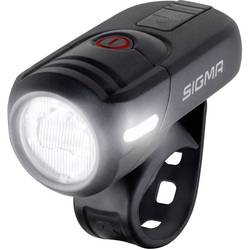 prednji žaromet za kolo Sigma AURA 45 led akumulatorsko črna