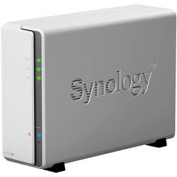 Synology DiskStation DS120J nas strežnik ohišje 1 Bay šifriranje strojne opreme
