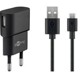 Goobay Micro USB-Ladeset 1 A 45296 USB napajalnik vtičnica Izhodni tok maks. 1 A 1 x ženski konektor USB 2.0 tipa a