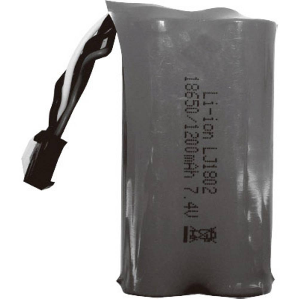Absima liion akumulatorski paket za modele 7.4 V 1200 mAh