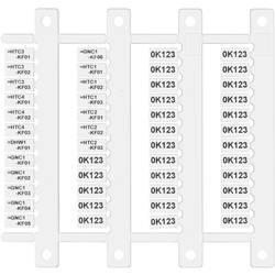 Finder 060.48 zaščitna ploščica za napise Bulk 10 kos