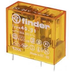 Finder 40.31.8.024.0000 rele za tiskano vezje 24 V/DC 10 A 1 menjalo 50 kos Tray